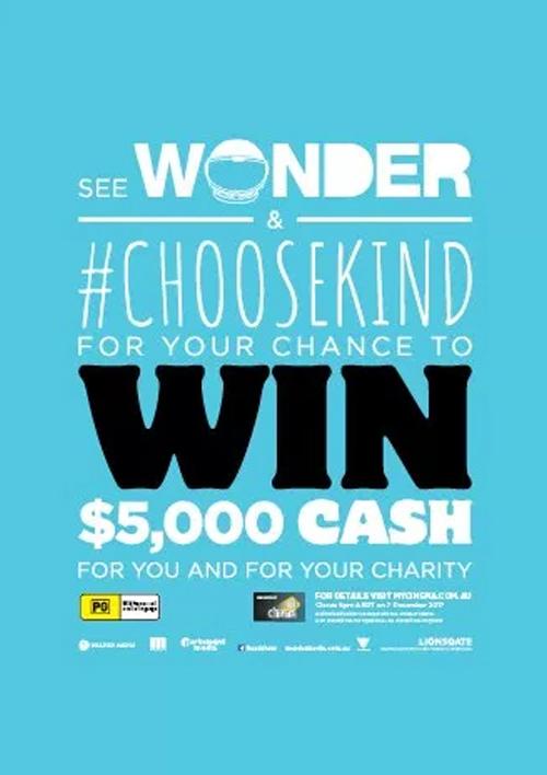Wonder Film Competition Poster